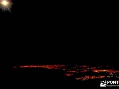 Maliciosa- Senderismo Luna Llena; carros del foc hoces del duraton piraguas san mamés